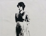 Newington Green graffiti celebrates Wollstonecraft