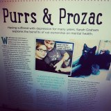 Purrs and Prozac – Your Cat magazine(December)
