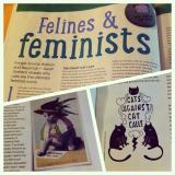 Felines and Feminists – Your Cat magazine (March 2015)